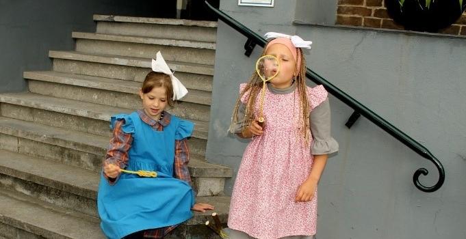 Kindermiddagen op zaterdag 1 en 15 augustus.