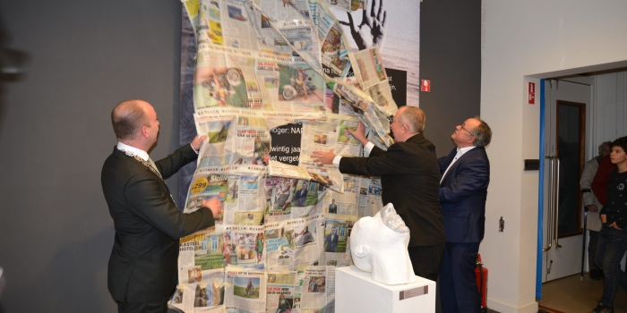 Opening expositie Over-Stromen