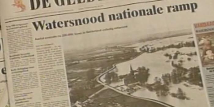 Tentoonstelling Evacuatie 1995.
