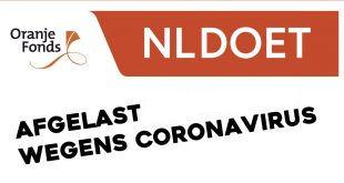 NL Doet dag a.s. zaterdag is afgelast.!!