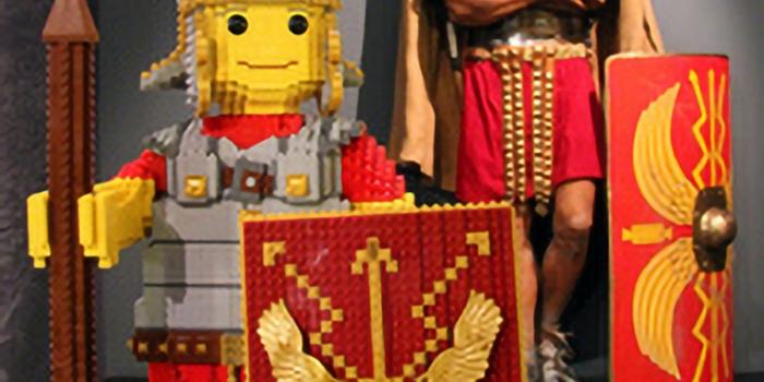 Winnaar Lego Wedstrijd Prehistorie en/of Romeinse Tijd